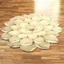 odd shaped rugs uk unique chenille bath rug unusual bathroom magnolia round flower beautiful modern runner
