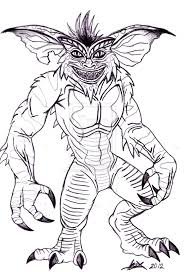 Gremlins Coloring Pages Bing Images
