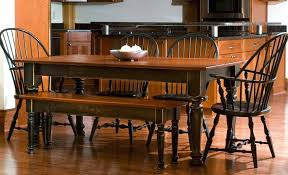 custom wood tables handcrafted farmhouse dining tables dining room table with bench farmhouse style kitchen tables and chairs