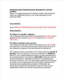 job recommendation letter samples 79 examples of recommendation letters
