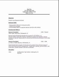 Daycare Resume Inspiration 1222 Daycare Resume 24 Child Techtrontechnologies