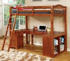 wood bunk bed with desk. Brilliant With In Wood Bunk Bed With Desk S