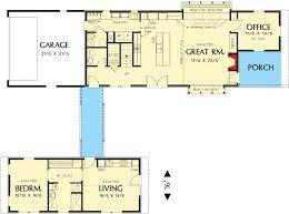 dog trot house plans. Unique Dog Trot House Plan - 69609AM Floor Main Level Plans E