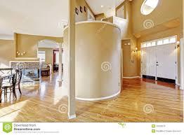 Living Room Entrance Designs Open Plan Design Entrance Hallway And Living Room Stock Image