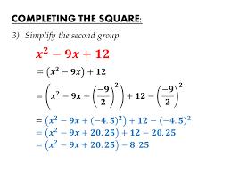 igcse mathematics examination cambridge completing the square equations transform