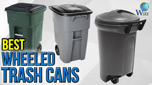 8 best wheeled trash cans 2017