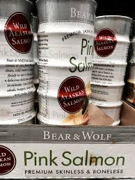 do you really know what you re eating picking up more costco my costco whole in hackensack carries two canned salmons wild alaskan under the bear wolf from trident seafoods corp above