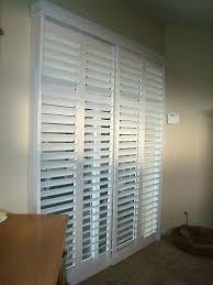 plantation shutters for sliding glass doors white plantation shutters for sliding glass patio doors from shutters