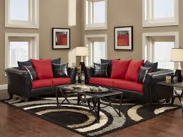 Beautiful Modern Living Room Black And Red Kbcnsug R Throughout Inspiration Decorating