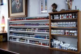 painting rack shelf storage