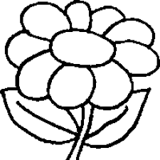 flower colouring pictures. Simple Colouring For Flower Colouring Pictures