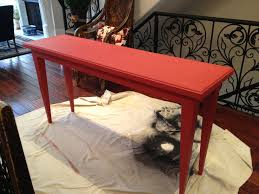 breathtaking red console table with drawers images decoration