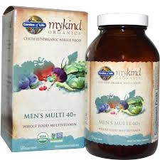 details about garden of life mykind organics men s multi 40 120 s multivitamin ships fast