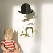 mr moustache baby mobile gold edition by jäll  tofta « thecoolheads