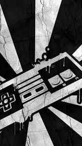 black white iphone background 1