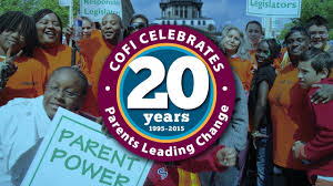 COFI's 20th Anniversary Celebration is just around the corner and you're  invited! : Community Organizing and Family Issues (COFI)
