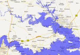 Flood Map Elevation Map Sea Level Rise Map