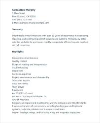 Mechanic Resume Template 6 Free Word Pdf Document Downloads