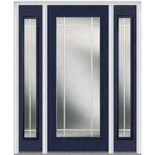 home depot front doors with sidelightsSingle door with Sidelites  Fiberglass Doors  Front Doors  The