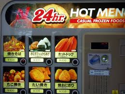 Hot Dog Vending Machines Custom JapanNewbie Vending Machines Hot Stuff