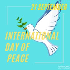 21 सितंबरः विश्व शांति दिवस