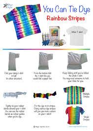 Tie Dye Folding Patterns