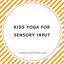 Yoga For Kids Free Printable Parenting Chaos