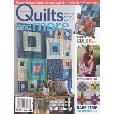 Better Homes & Gardens Quilts & More Spring 2017 - Meredith ... & Better Homes & Gardens Quilts & More Spring 2017 Adamdwight.com