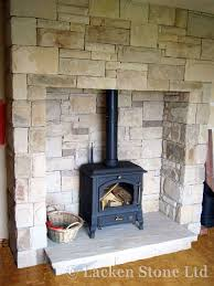 image result for fireplace surround freestanding pellet stove