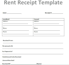 Free Rent Receipt Template Mac Invoice Form Free Rent Invoice Form