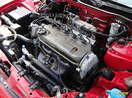 1994 Honda Civic CX Hatchback 1.5 Liter SOHC 8-Valve Inline 4 ...