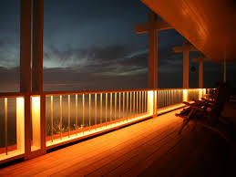 deck lighting. Deck Lighting C