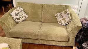 dfs shaldon lime green 2 seater sofa