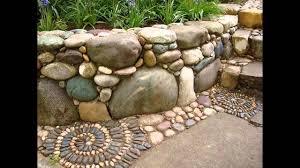 [Garden Ideas] rock garden edging ideas - YouTube