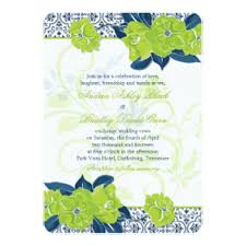 chartreuse invitations & announcements zazzle Wedding Invitation Blue And Green green navy blue vintage floral wedding invitation wedding invitation blue green motif