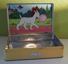 Kuifje Tintin Hergé Oud Blik Met Afbeelding Van Bobby Milou