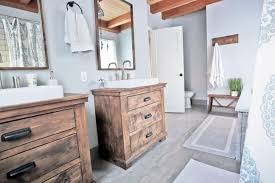 Rustic Modern Farmhouse Bath Tour Sources Ana White Woodworking