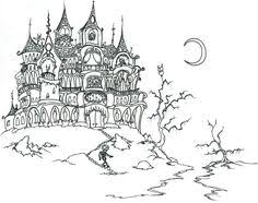 Small Picture Scary Halloween Skulls Coloring Pages Halloween Coloring Pages