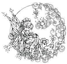 Fairy Tale Coloring Pages For Adults Raovat24hinfo