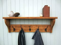 Coat Rack With Shelf Plans Coat Shelf Coat Hanger Sgmunclub For Awesome Residence Wall Coat 2