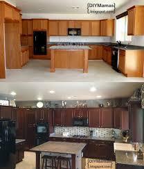 Stain For Kitchen Cabinets Diy Gel Stain Kitchen Cabinets Buslineus