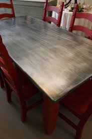 How to: cover table top with zinc (kitchen counter) (I don'