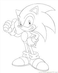 Kids N Coloring Pages Of Sonic X Sonic X Coloring Pages Sonic X