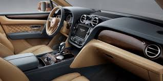 2018 bentley suv. perfect suv the tan and black leather front interior of a bentley bentayga suv   motors with 2018 bentley suv y