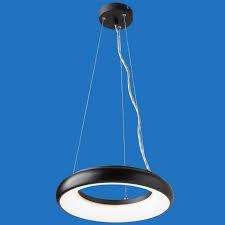 halo led circular pendant luminaires