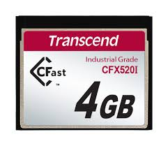 Промышленная <b>карта памяти</b> CFast 1.0 <b>4GB</b> SLC SATA II ...