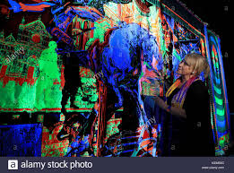Tapestry Of Light Canterbury Australian Artist Irene Barberis With Her Design The