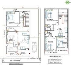 20 x 40 house plans fashionable ideas duplex house plans for site east facing 7 x