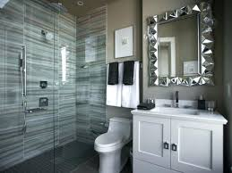 half bathroom ideas gray. Modren Gray Small Guest Bathroom Ideas Brown Wall Tiles For  And Other Related Images   Throughout Half Bathroom Ideas Gray