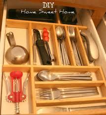 nice concept plan wooden silverware drawer organizer diy home drawers divider